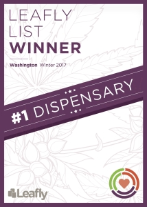 Leafly Award - Washington Winter 2017 Winner